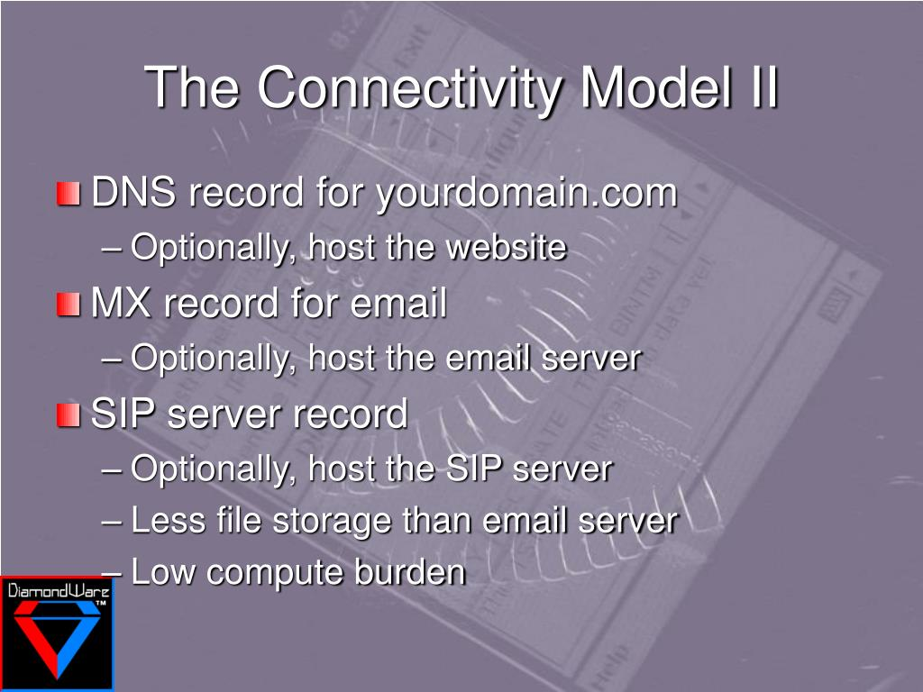 The Connectivity Model II