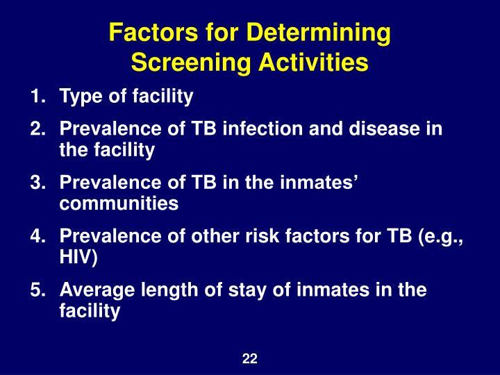 Factors for Determining