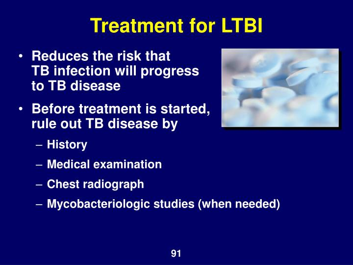 Treatment for LTBI