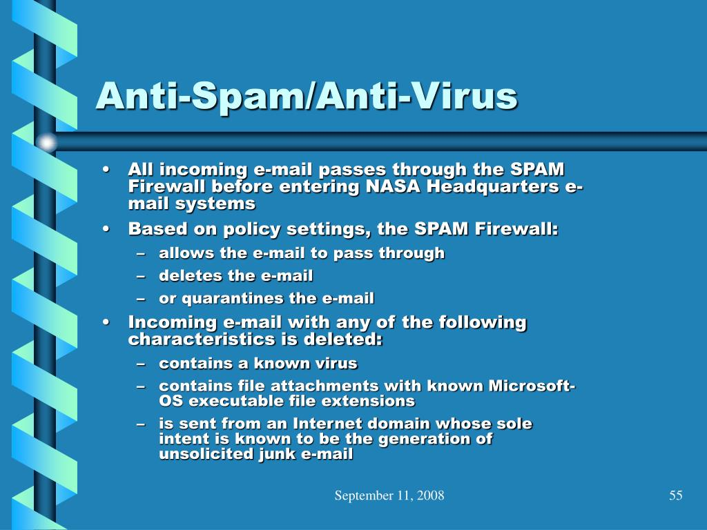 Anti-Spam/Anti-Virus