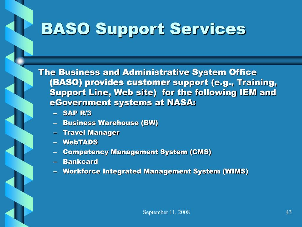 BASO Support Services