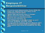 employee it responsibilities95