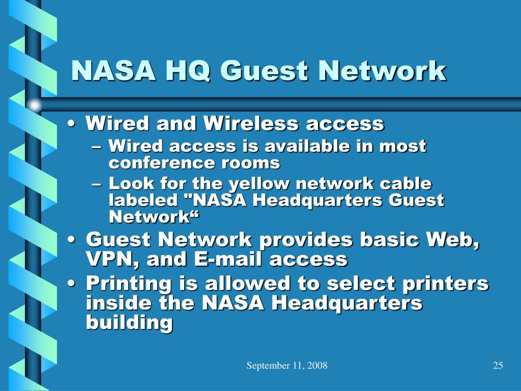 NASA HQ Guest Network