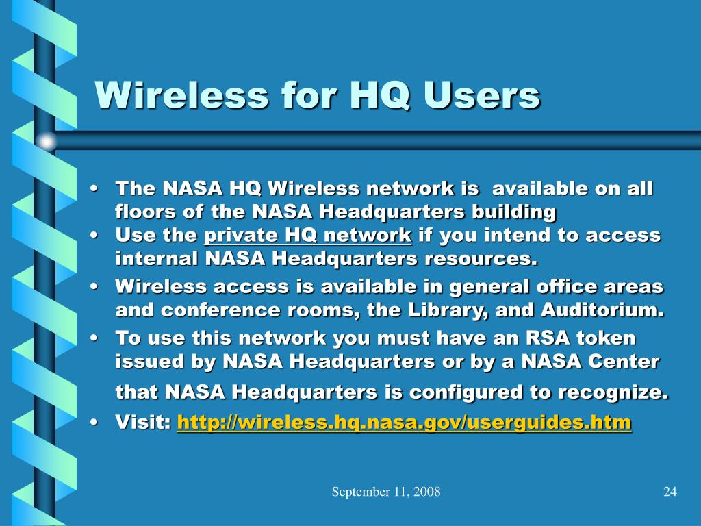 Wireless for HQ Users