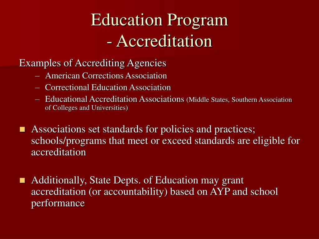 Education Program