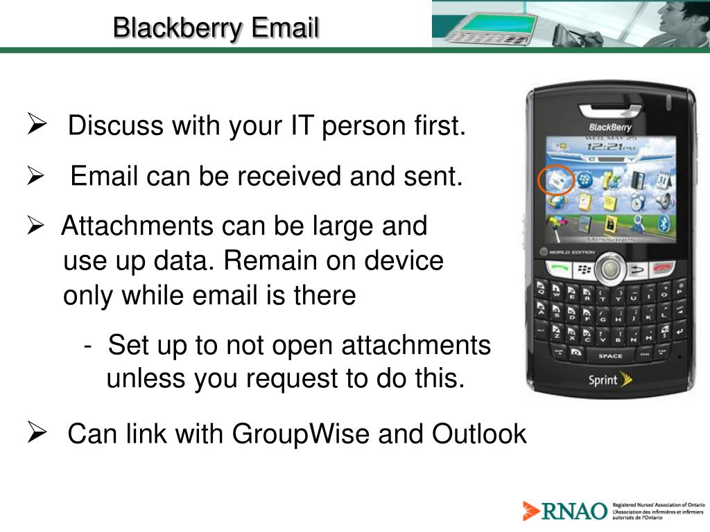 Blackberry Email