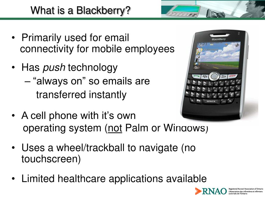 What is a Blackberry?