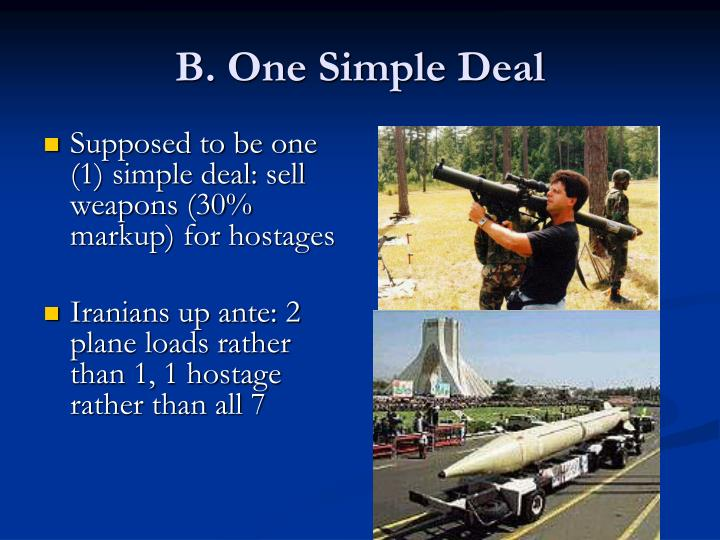 B. One Simple Deal