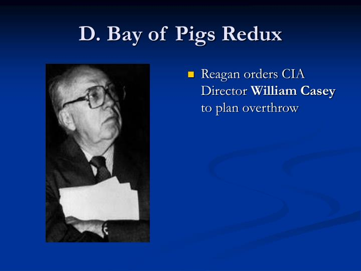 D. Bay of Pigs Redux