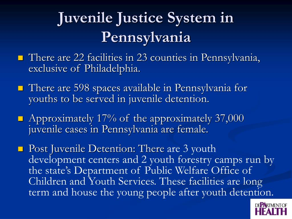 Juvenile Justice System in Pennsylvania