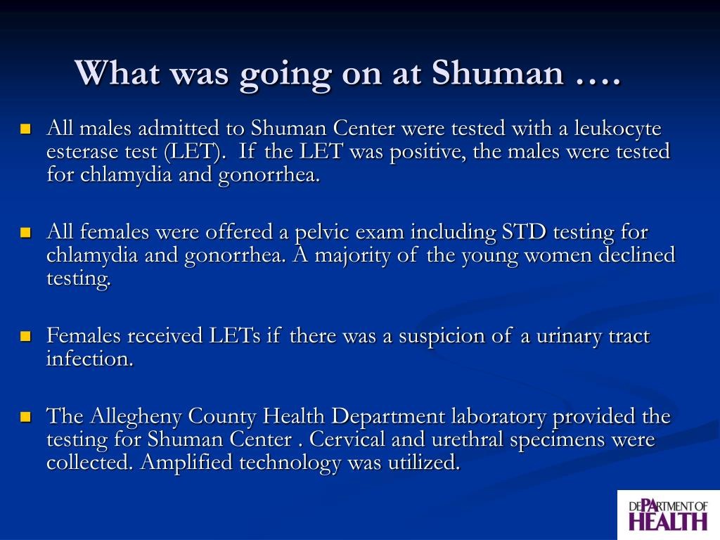 What was going on at Shuman ….