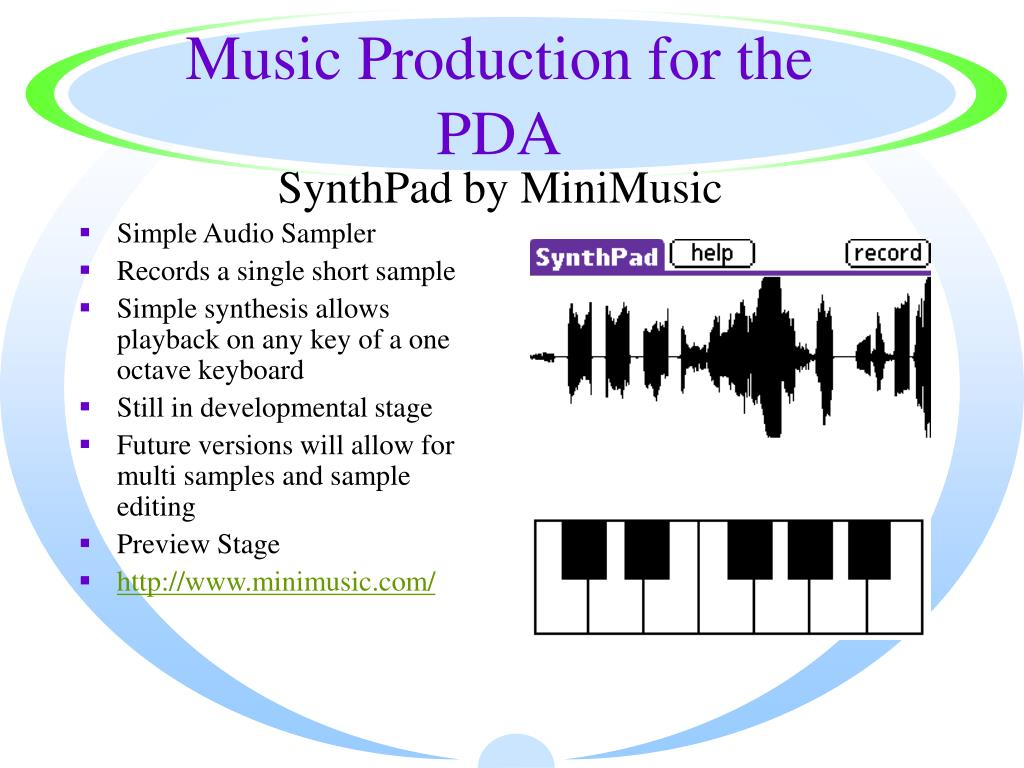 Music Production for the PDA