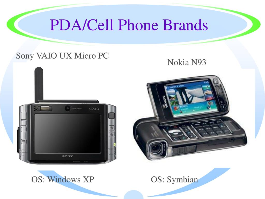 PDA/Cell Phone Brands