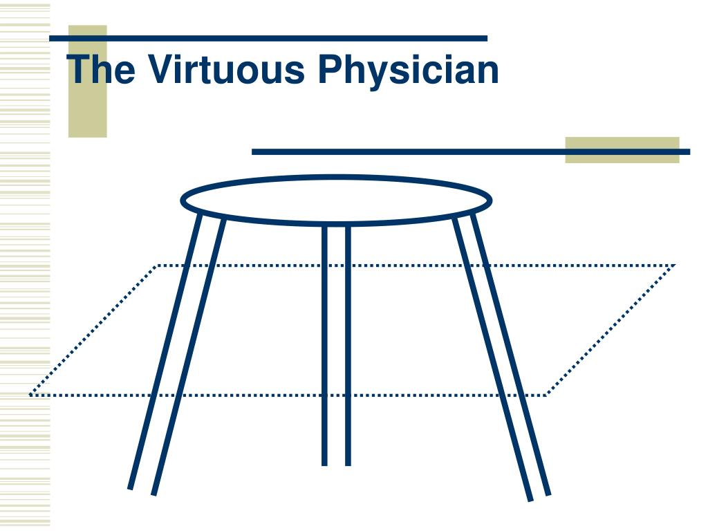 The Virtuous Physician