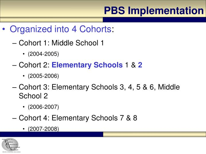 PBS Implementation