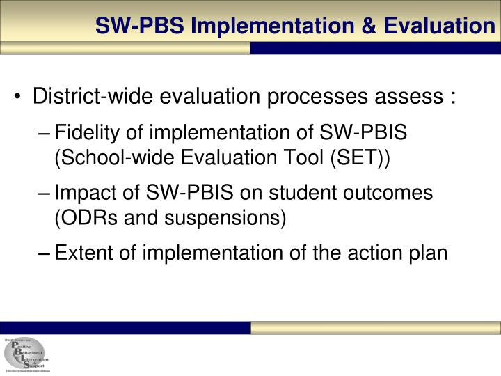SW-PBS Implementation & Evaluation