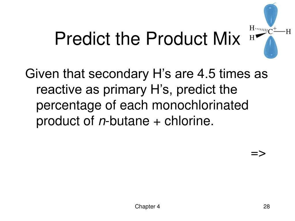 Predict the Product Mix