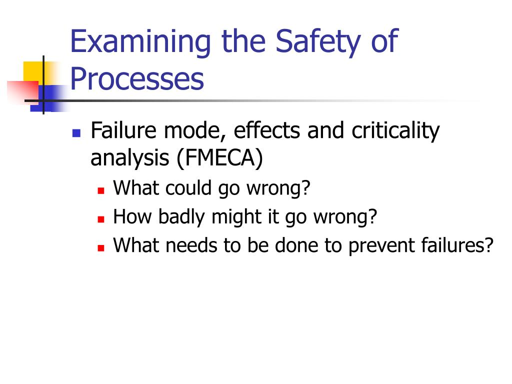 Examining the Safety of Processes