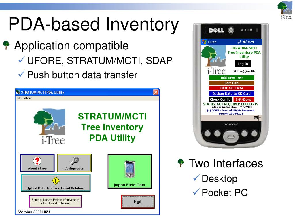 PDA-based Inventory