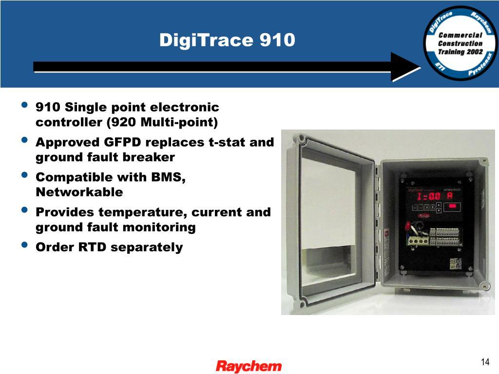 DigiTrace 910