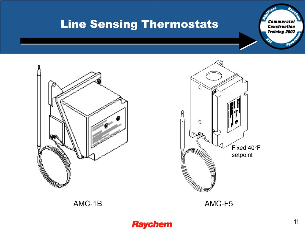 Line Sensing Thermostats
