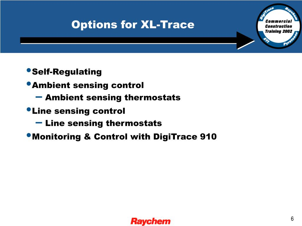 Options for XL-Trace