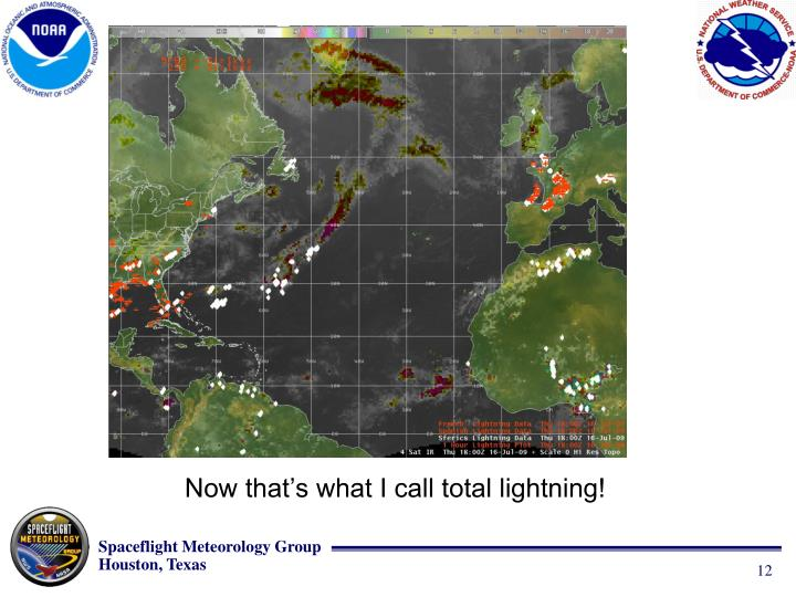 Now that's what I call total lightning!
