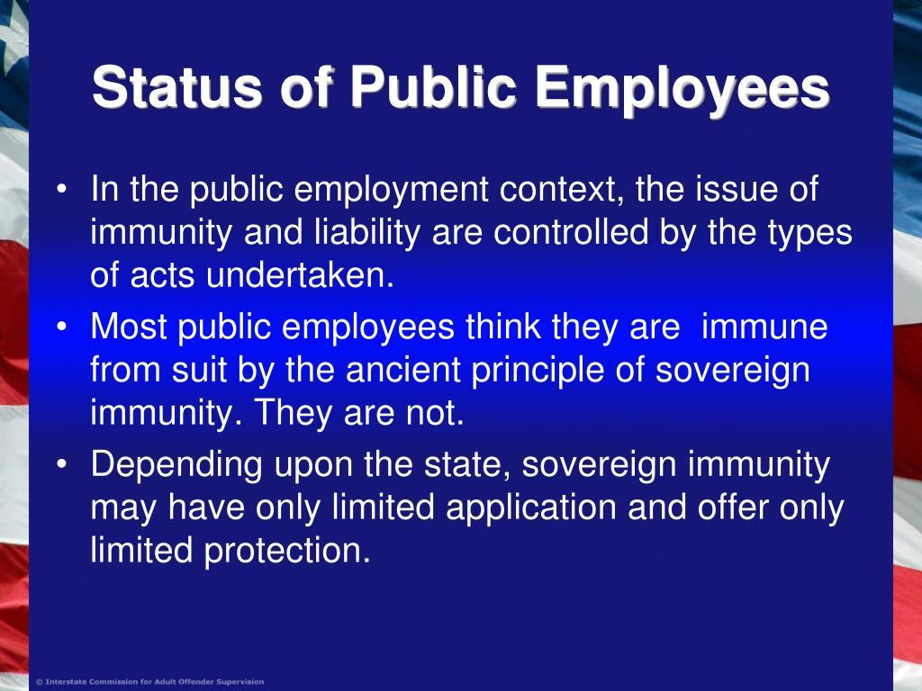 Status of Public Employees