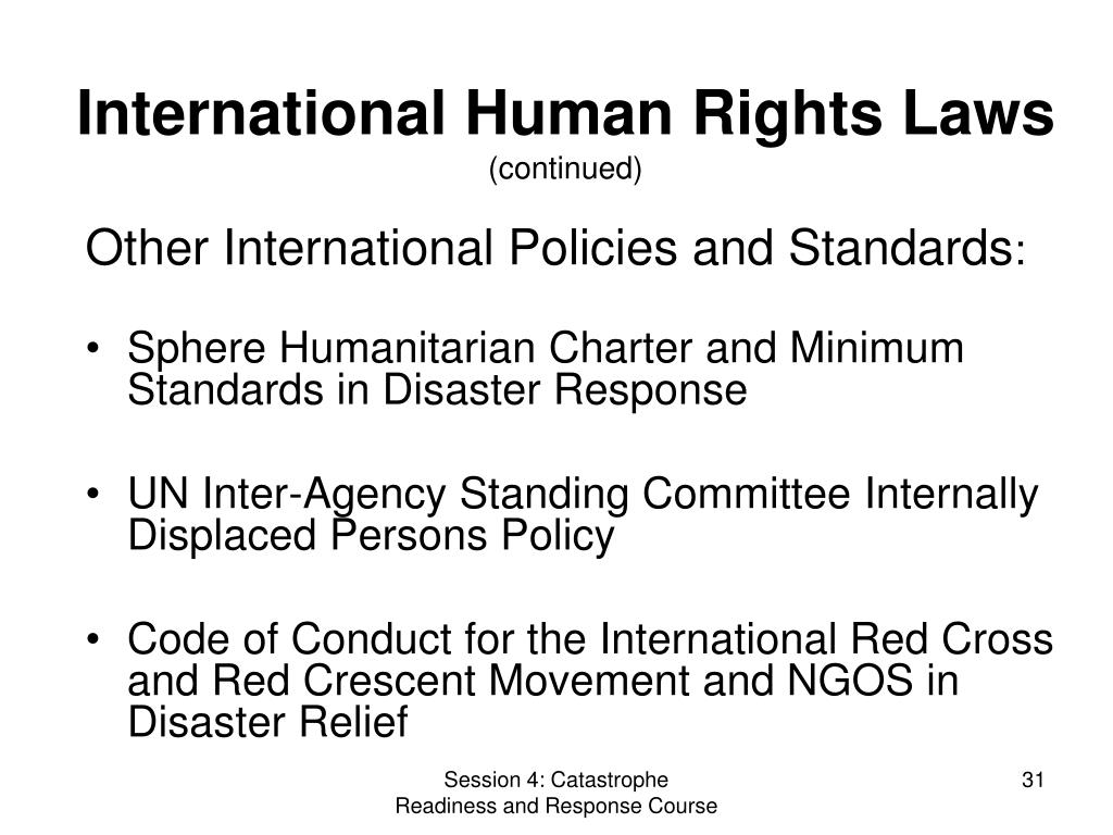 International Human Rights Laws
