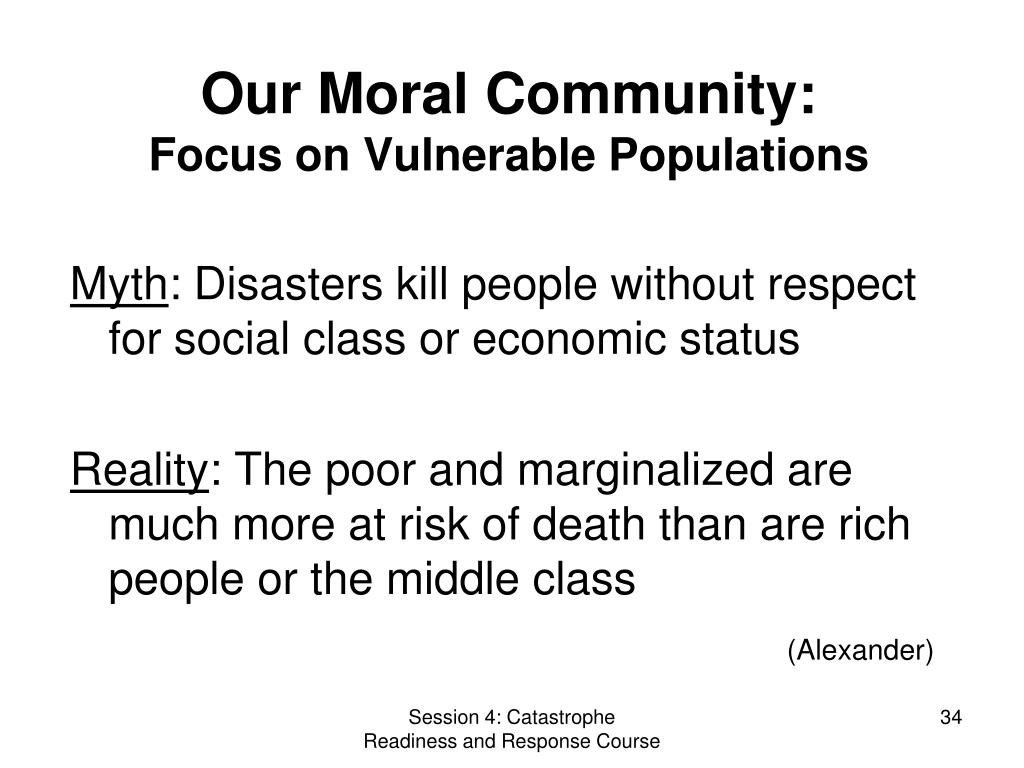 Our Moral Community: