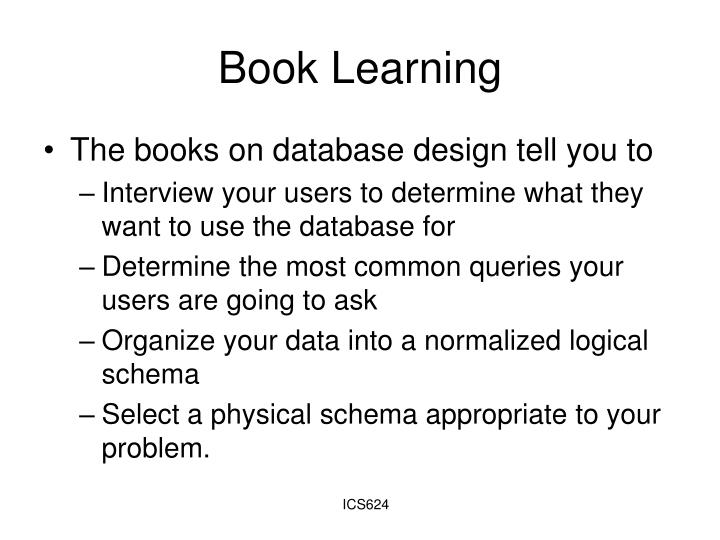 Book Learning