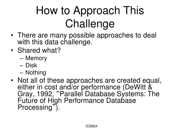 How to Approach This Challenge