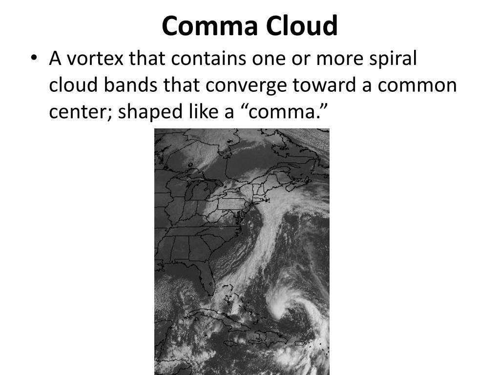 Comma Cloud