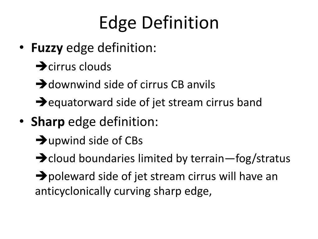 Edge Definition