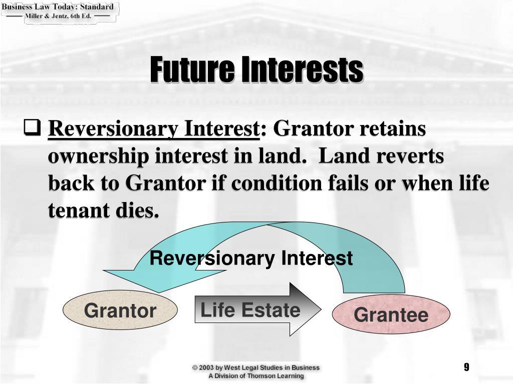 Reversionary Interest