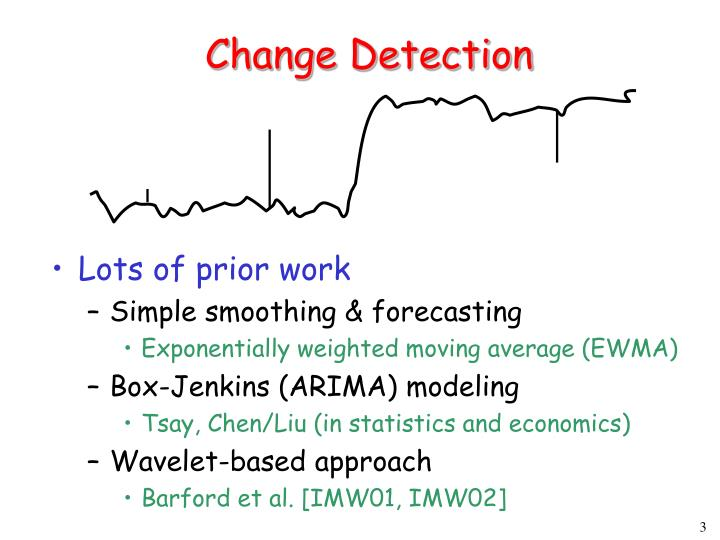 Change detection