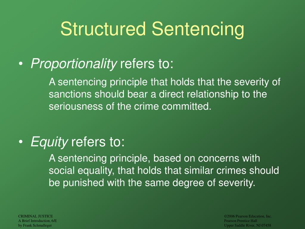 Structured Sentencing