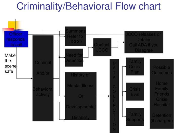 Criminality/Behavioral Flow chart
