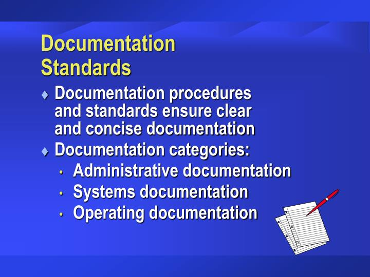 Documentation Standards