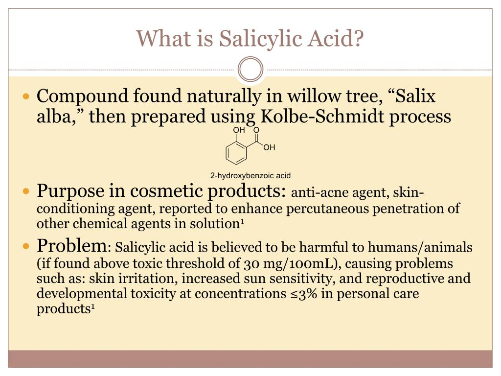 What is Salicylic Acid?