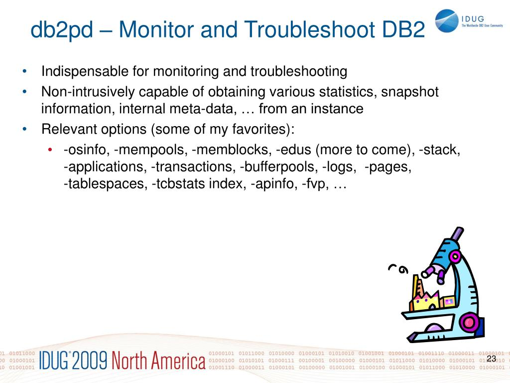 db2pd – Monitor and Troubleshoot DB2