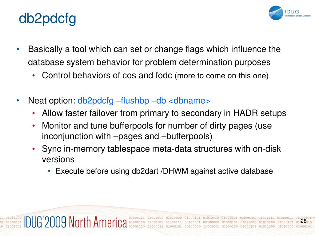 Basically a tool which can set or change flags which influence the database system behavior for problem determination purposes