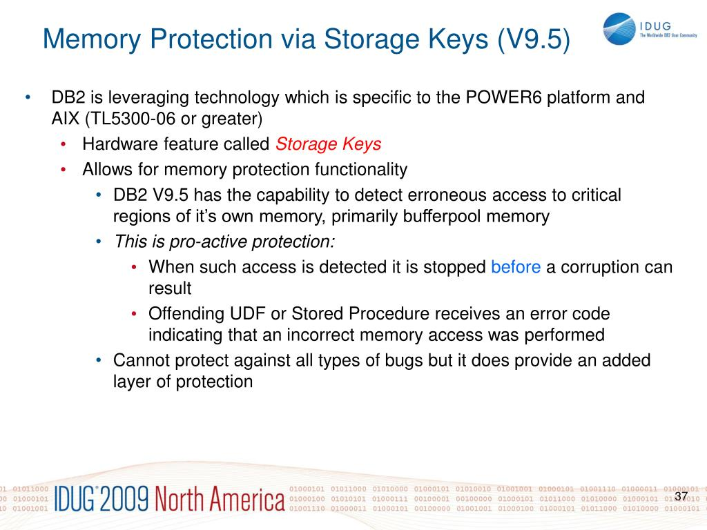 DB2 is leveraging technology which is specific to the POWER6 platform and AIX (TL5300-06 or greater)