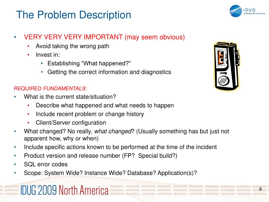 The Problem Description