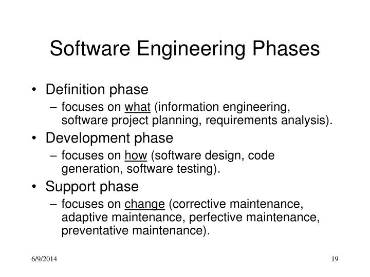 Software Engineering Phases