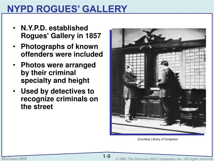 NYPD ROGUES' GALLERY