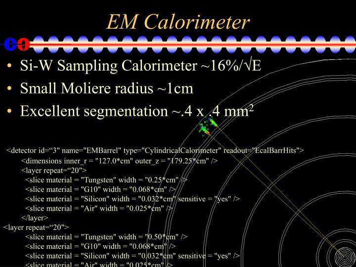 EM Calorimeter