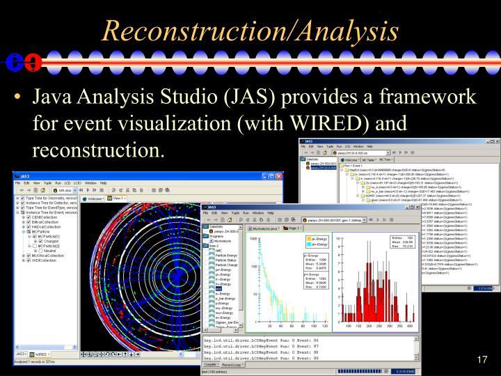 Reconstruction/Analysis