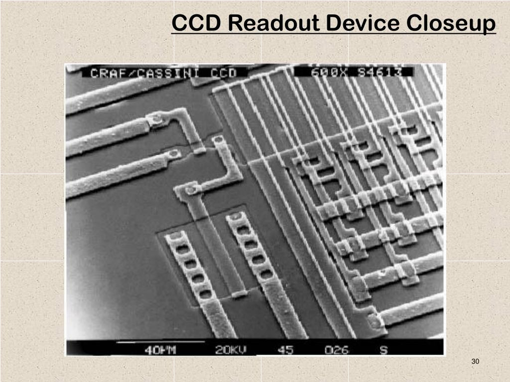 CCD Readout Device Closeup