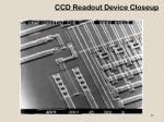 ccd readout device closeup